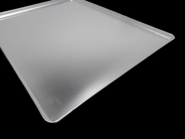Thekenblech 40x30x1 cm silber neu
