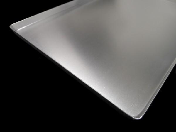 Thekenblech 60x20x1 cm silber neu